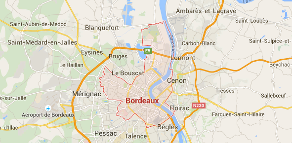 carte bordeaux