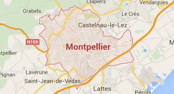 carte montpellier